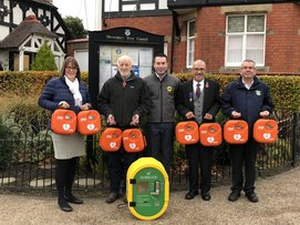 Shrewsbury Town Council Invest in Life-Saving Equipment!
