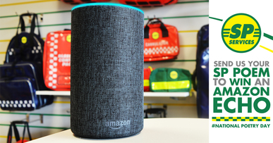 National Poetry Day 2019 - Submit your poems to win an Amazon Echo!
