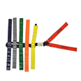 Set of Donway Spider Straps - 6 Harness MultiColoured - Velcro