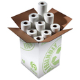 White Paper Couch Roll - 50cm x 40m - Case of 9