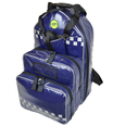 SP Parabag First Responder AED & Oxygen Backpack Navy Blue - TPU Fabric