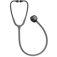 3M Littmann Classic III Stethoscope - Smoke & Gray with Violet Stem