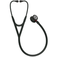 3M Littmann Cardiology IV Stethoscope - Black & Black with Red Stem